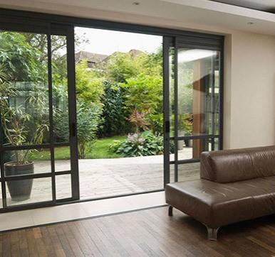 outdoor glass sliding doors