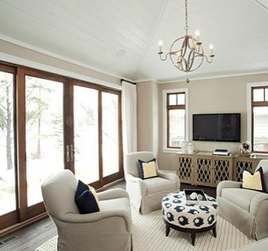 sliding door designs for living room