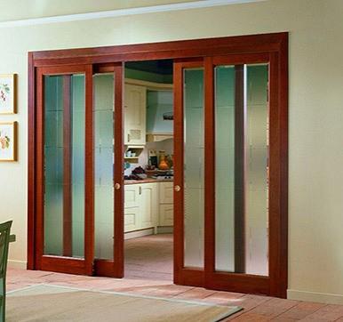 kitchen sliding door design