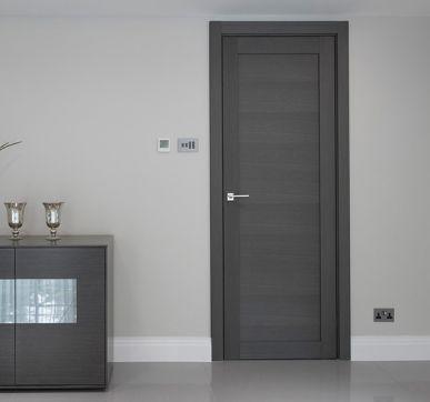 wood room door design