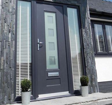 Modern Composite entrance doors