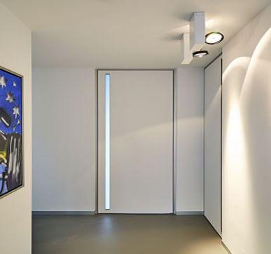 Door With Glass slit