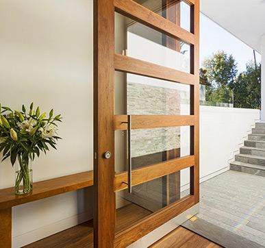 Huge and ravishing Asian entry door