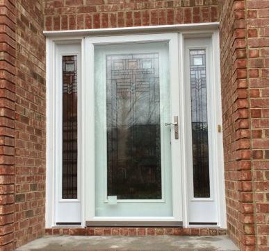 Complete glass doors