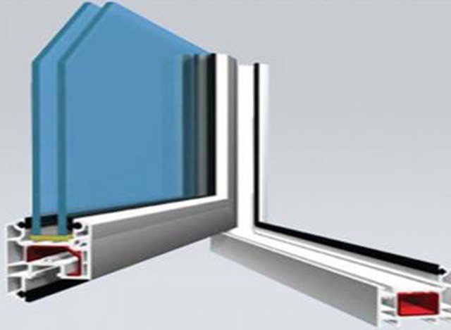 AD58 UPVC Casement Window System by Ventana Window