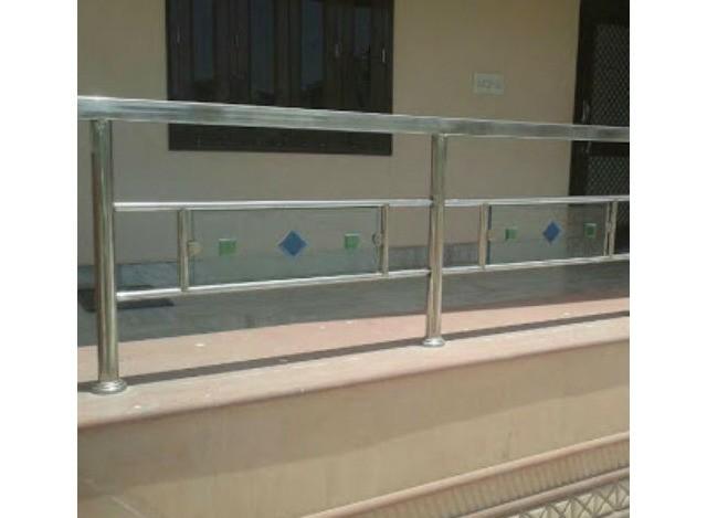 SS Glass Railing by Innovative Team