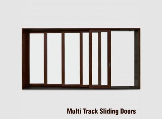 Multi Track Sliding Doors by Arrc Windows