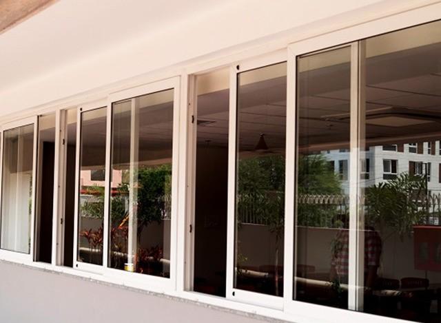 UPVC Sliding Door System by Torfenster Systems