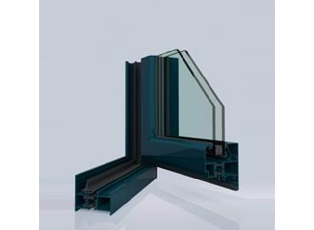 UPVC Casement Window Aluminium Profile by kinbon