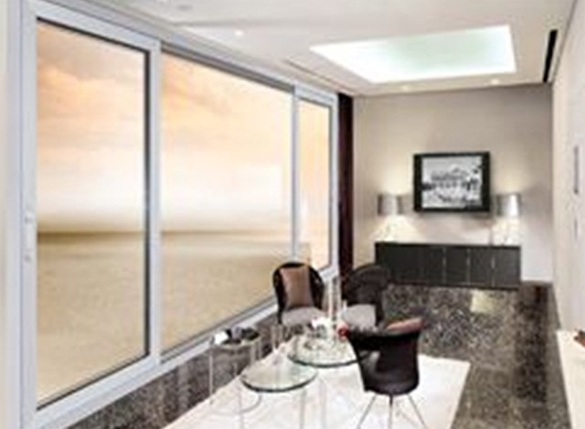 uPVC Sliding Window By LG Hausys