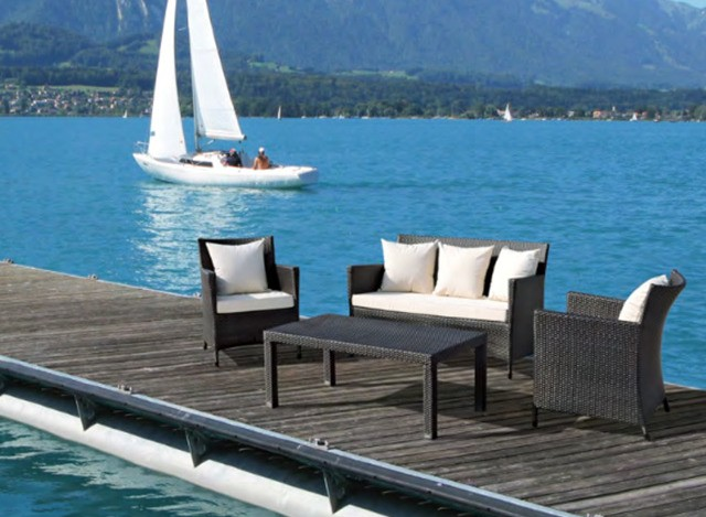 Outdoor Sofa Set by Loom Crafts Furniture