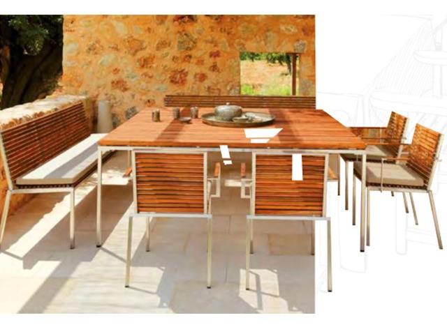 Outdoor Dining Furniture by Loom Crafts Furniture