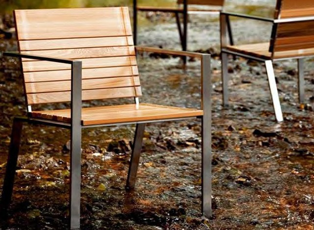 Outdoor Chair by  Loom Crafts Furniture