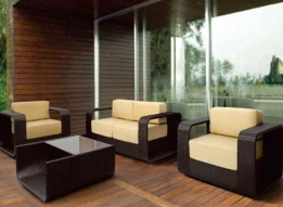 Outdoor Sofa by Loom Crafts Furniture