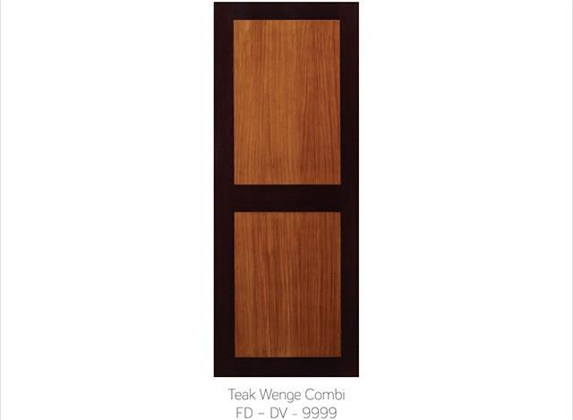 TEAK WENGE COMBI FD - DV 9999 by Fero Doors