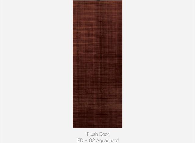 FLUSH DOOR FD - 02 AQUAGUARD by Fero Doors