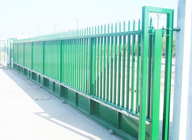Sliding  Main Gate by Avians Innovations Technology