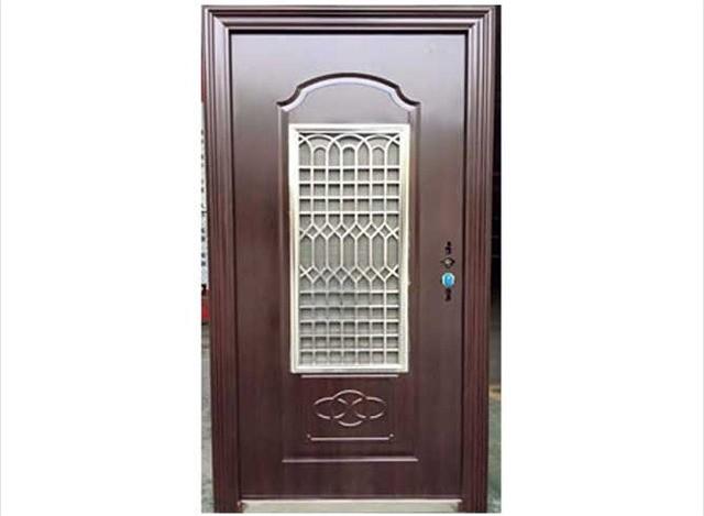 Door In Door by Ad Maestro Steel Doors