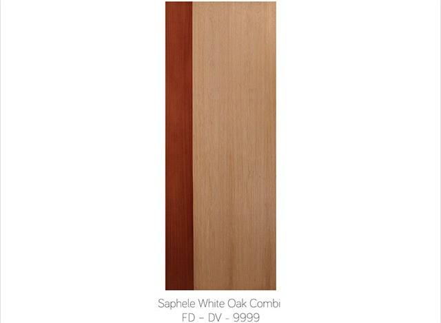 SAPHELE WHITE OAK COMBI FD - DV -9999 by Fero Doors