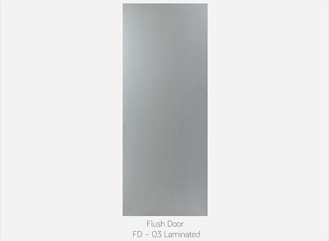 FLUSH DOOR FD - 03 LAMINATED by Fero doors