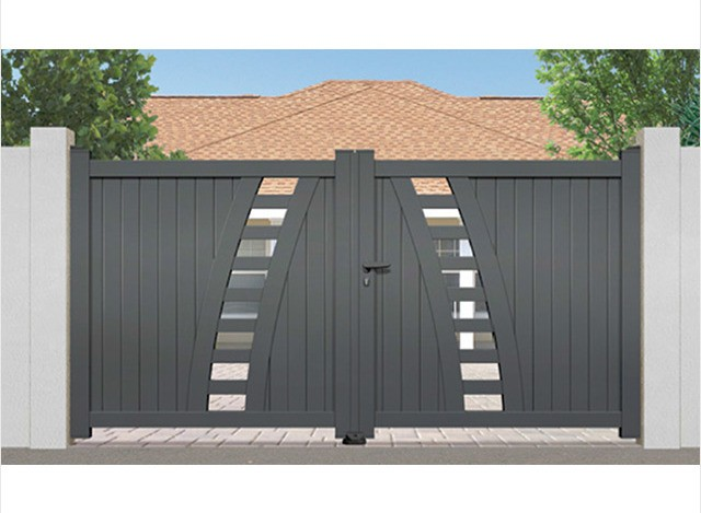 Main Gate Contemporary Range by LinkCare Gate Automation