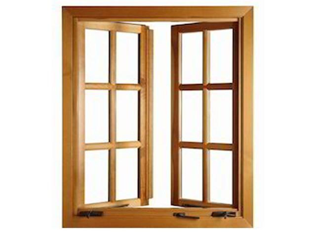Stylish Wooden Windows by C.P. Doors & Wood Craft