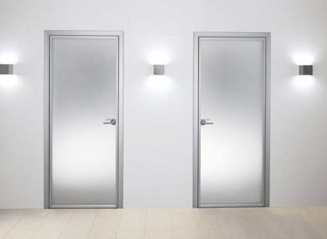 aluminium bathroom door by the window factory - Bathroom Doors