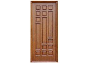 Designer Wooden Panel Door by Shreedurga Woodcraft