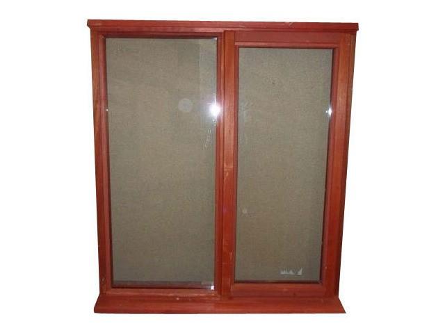 Plain Wooden Window by Sparkling Queen