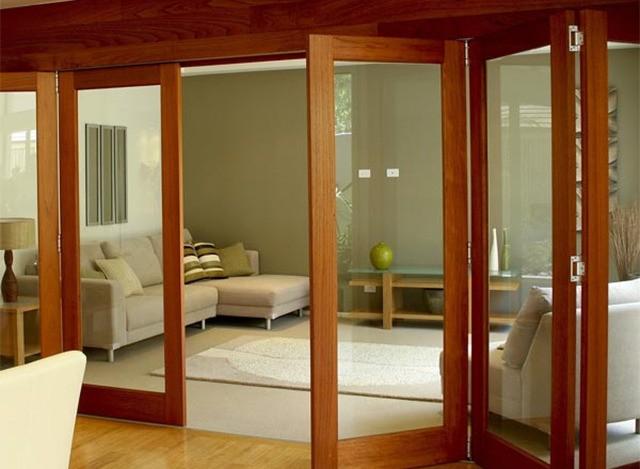 Aluminium Slide & fold windows by Beautex Industries Pvt Ltd