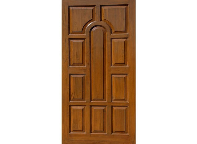 African Teak Wooden Door by AGS Enterprises