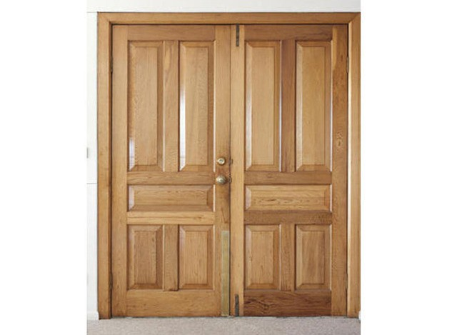 Wooden Double Door by Govind Timber Trading Company