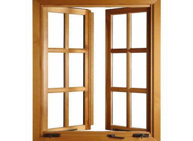 Antique Wooden Window by AGS Enterprises