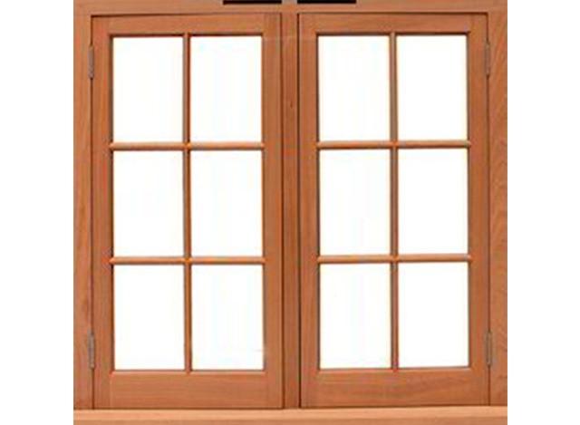 Solid Wooden Windows by C.P. Doors & Wood Craft