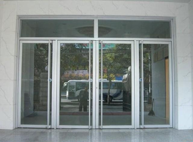 Aluminium Glass Door by Agarwal Metals