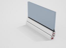 Casement Window uPVC Profile - Single open by Okotech uPVC Profiles