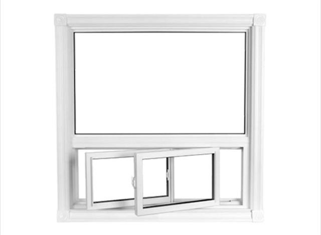 UPVC Combination Window by Shiva Steel Industries