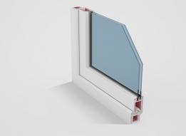 Casement Door uPVC Profile - Single open by Okotech uPVC Profiles