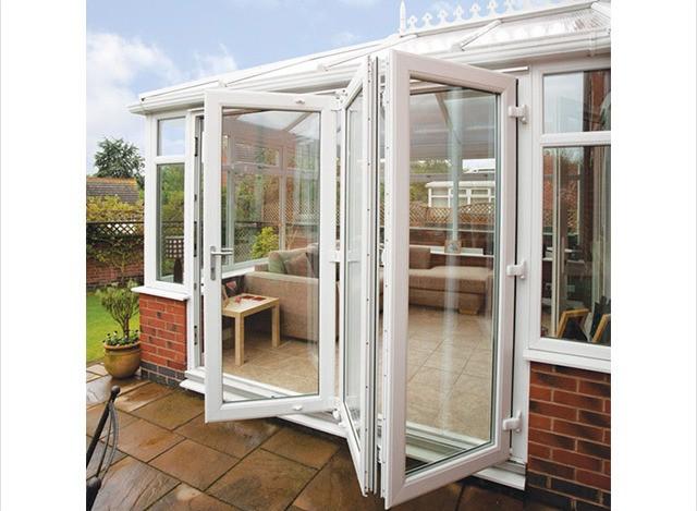 uPVC Slide and Fold Doors by Elite Window Factory