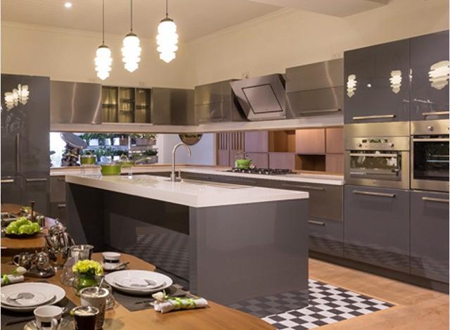 Island Kitchen by arttd'inox