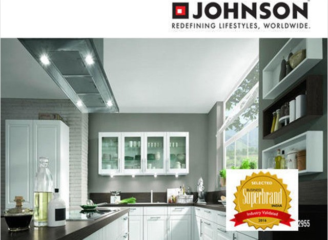 U Shaped Modular Kitchen by H & R Johnson