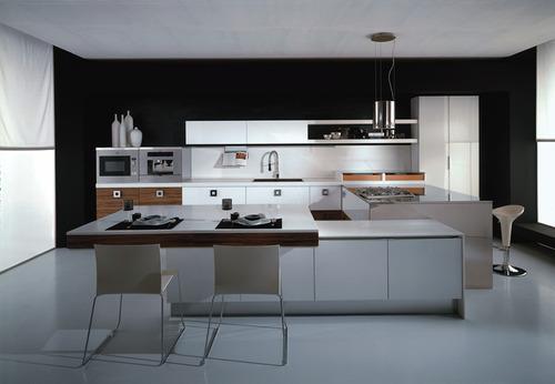 Designer Modular Kitchen by Zameenbazaar Private Limited