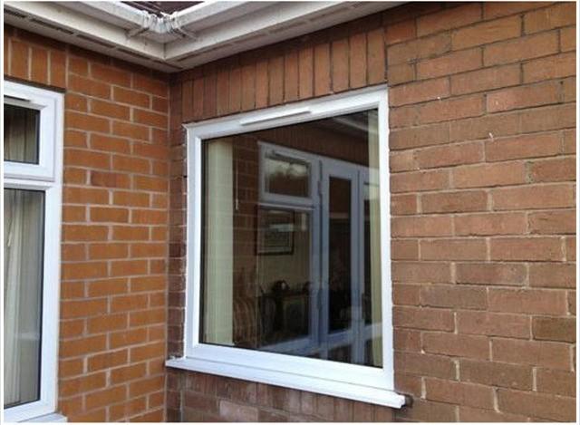 uPVC Fixed Window by Sri Kala Projects