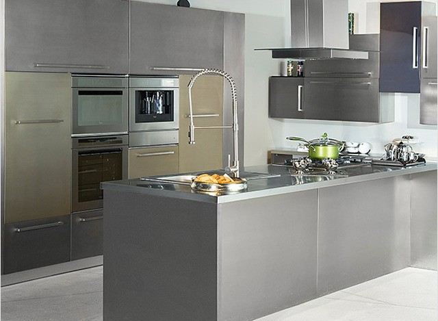 Corner /L-Shape Kitchen by arttd'inox