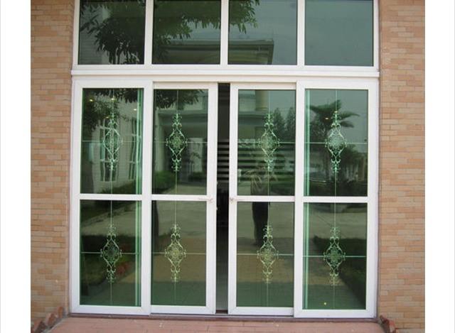 Aluminium Glass Door by Bombay Alum Windoors