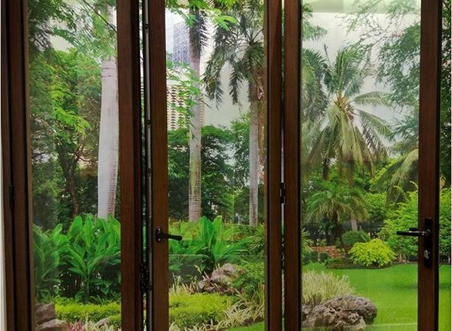 Aluminium Slide & Fold Doors by Geeta