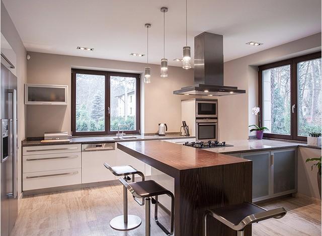 Island Kitchen by DP Woodtech Pvt. Ltd.