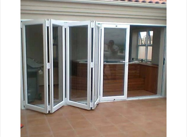 Aluminium Slide & Folding Door by Harish Glass