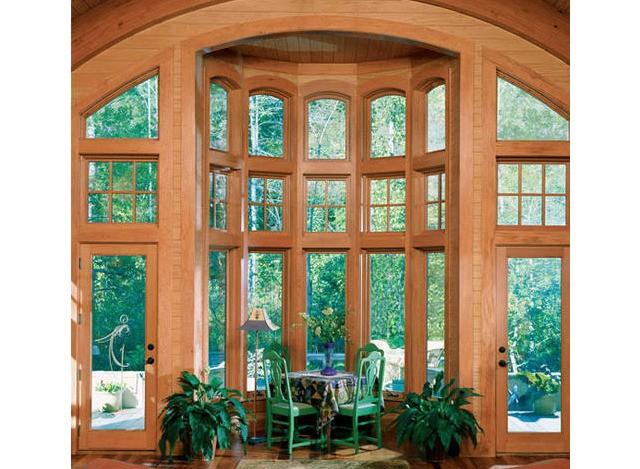 Round Top Bay Window by Concept Design