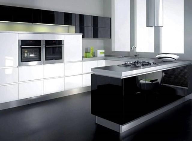 U-Shaped Kitchen by Ideas Modular Kitchens